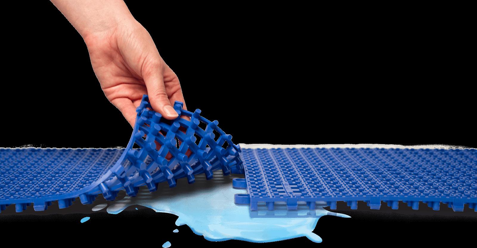 Flexible safety matting - contact