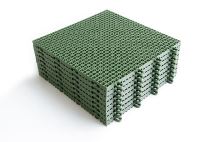 Green Deck Tile Stack